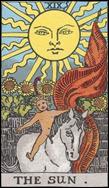 太陽 THE SUNの逆位置