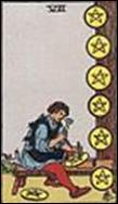ペンタクルの8のカードの意味と詳細
