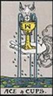 カップのエースのカードの意味と詳細