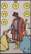 ペンタクルの6のカードの意味と詳細