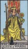 ワンドのクイーンのカードの意味と詳細