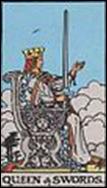 ソードのクイーンのカードの意味と詳細